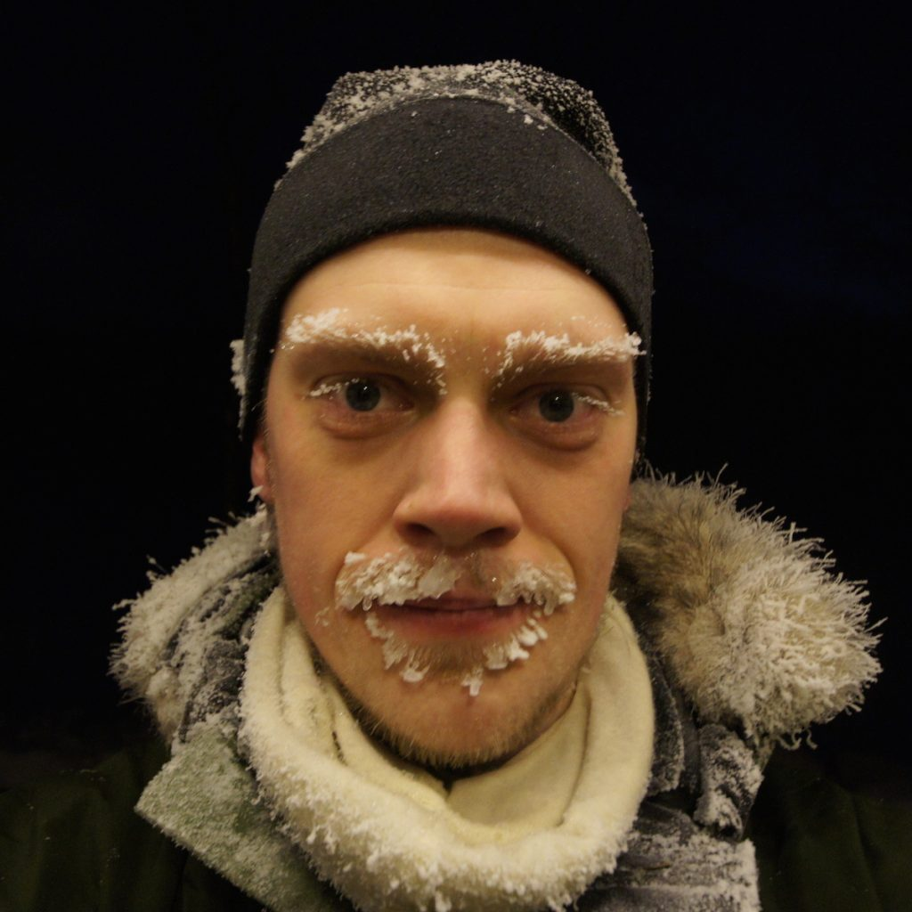 Erik Sveberg Dietrichs, forsker og turnuslege. Til Norsk Luftambulanse.